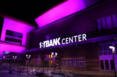 Bus to 1st Bank Center
