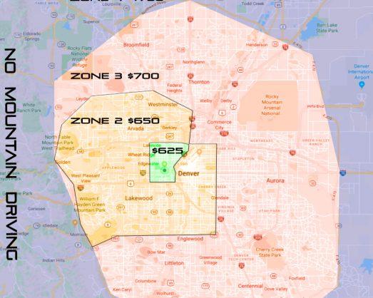 Denver Map Zones