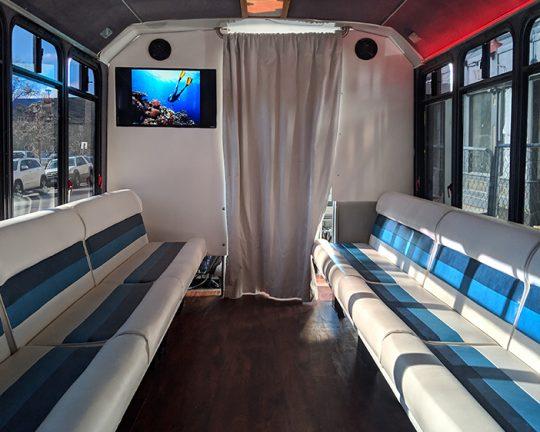 passenger Party Bus Inside