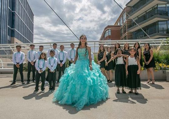 Rent party bus for Quinceanera