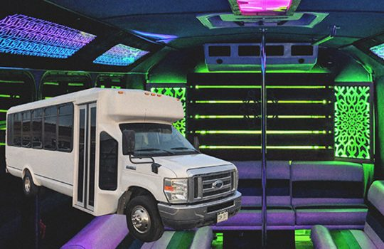 PROM PARTY BUS in Denver